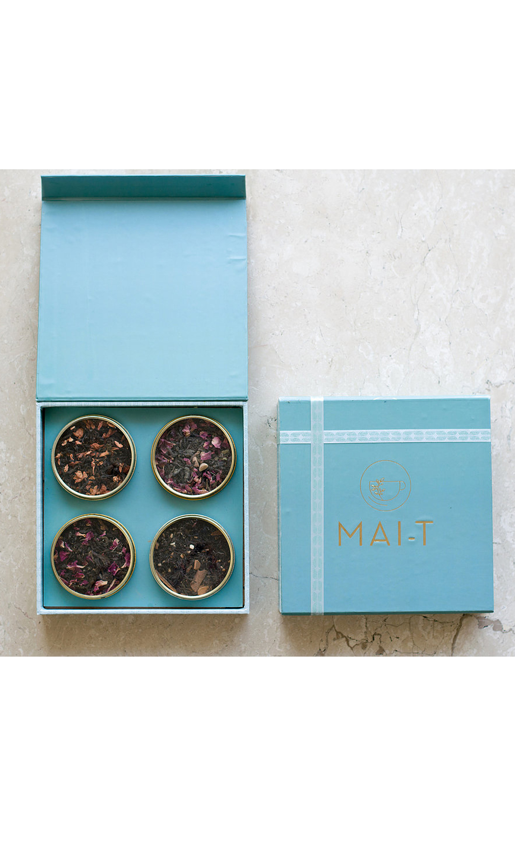 Assorted Tea Gift Box with 4 Flavours